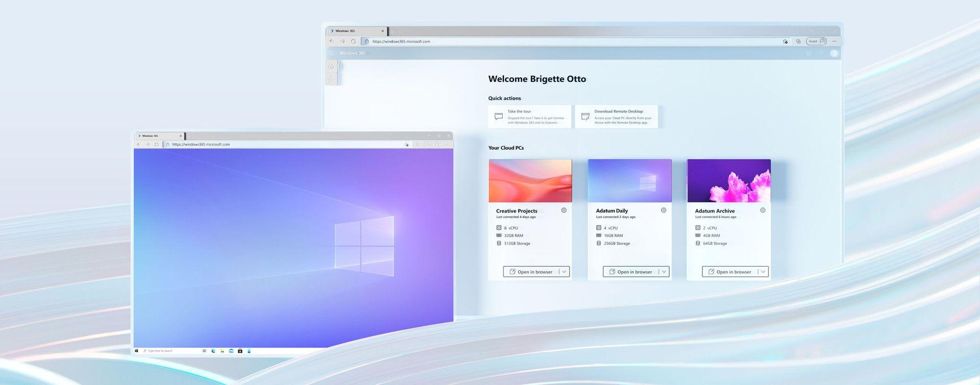 Microsoft presenterar Windows 365