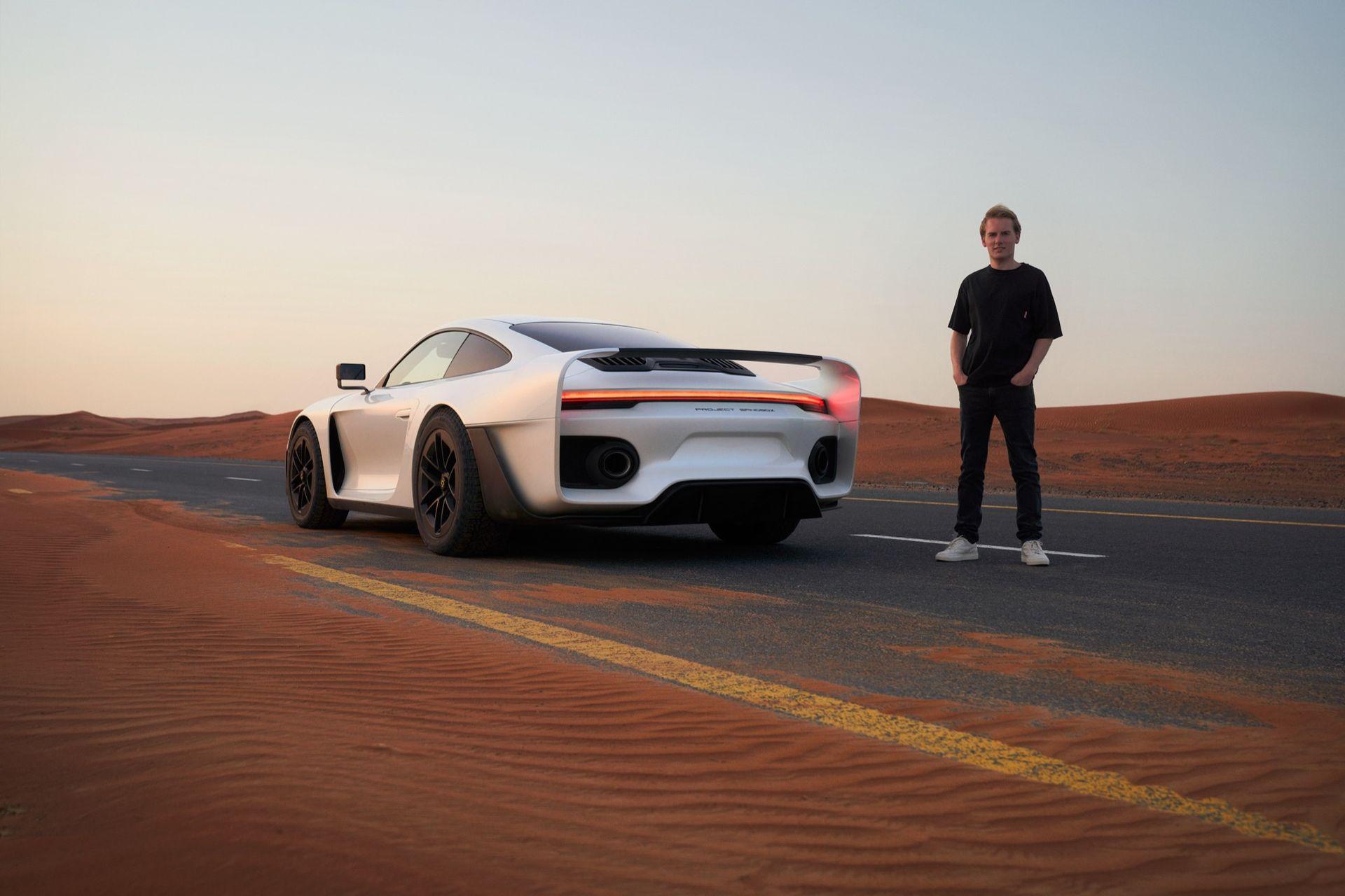 Gemballa-son släpper fantastisk Porsche