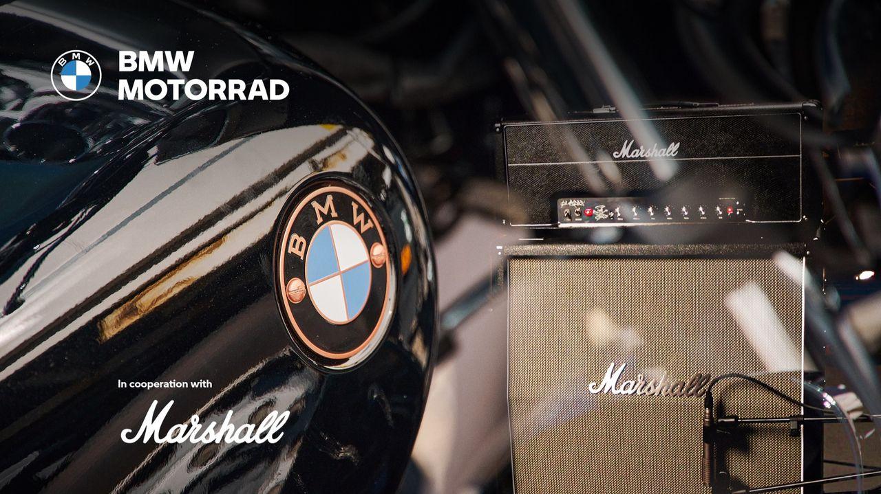 BMW Motorrad och Marshall ska jobba tillsammans