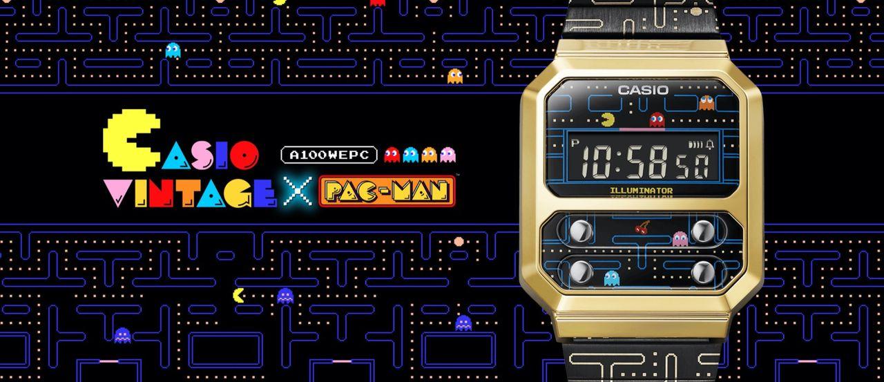 Casio släpper Pac-man-klocka