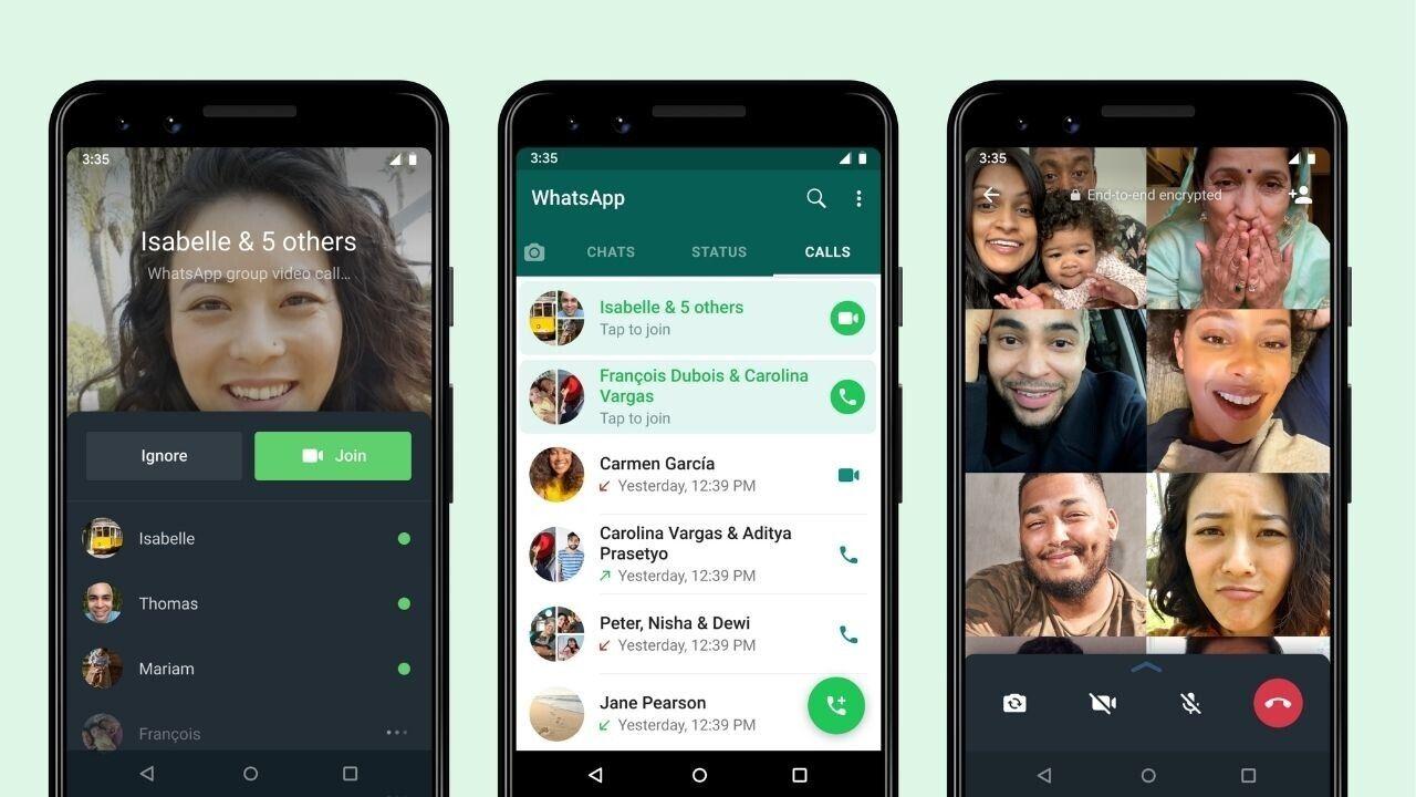 Nu kan du hoppa in i pågående WhatsApp-samtal