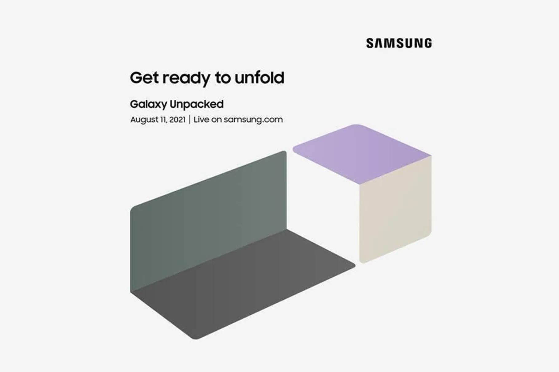 Samsung kör nytt Galaxy Unpacked-event den 11 augusti Sannolikt fokus på Galaxy Z Fold och Z Flip