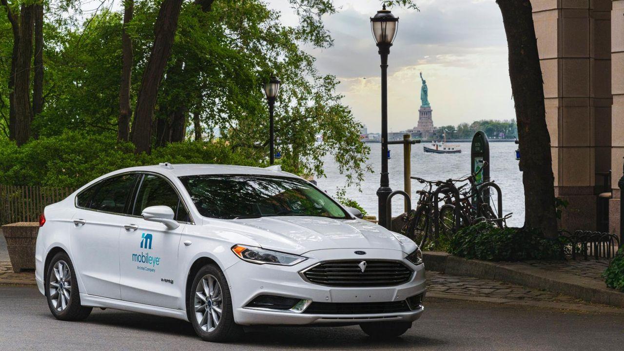 Mobileye börjar testa självkörande bilar i New York