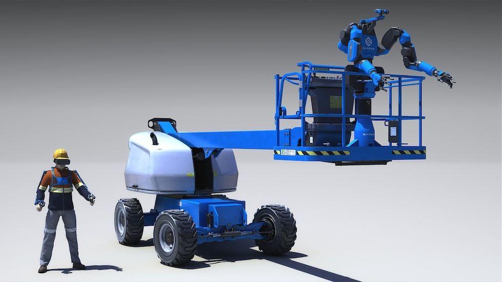 Guardian XT är en robot som du styr i virtual reality