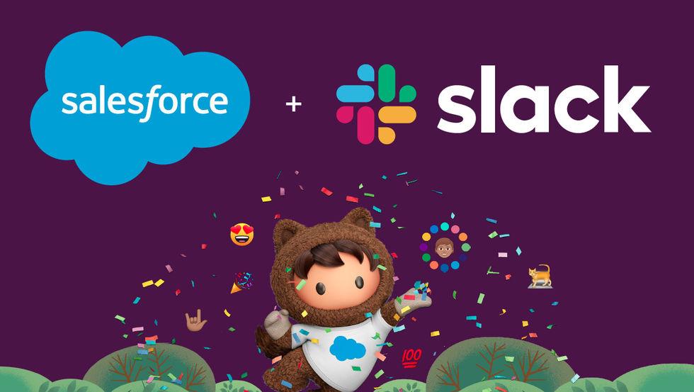 Slack är nu officiellt en del av Salesforce
