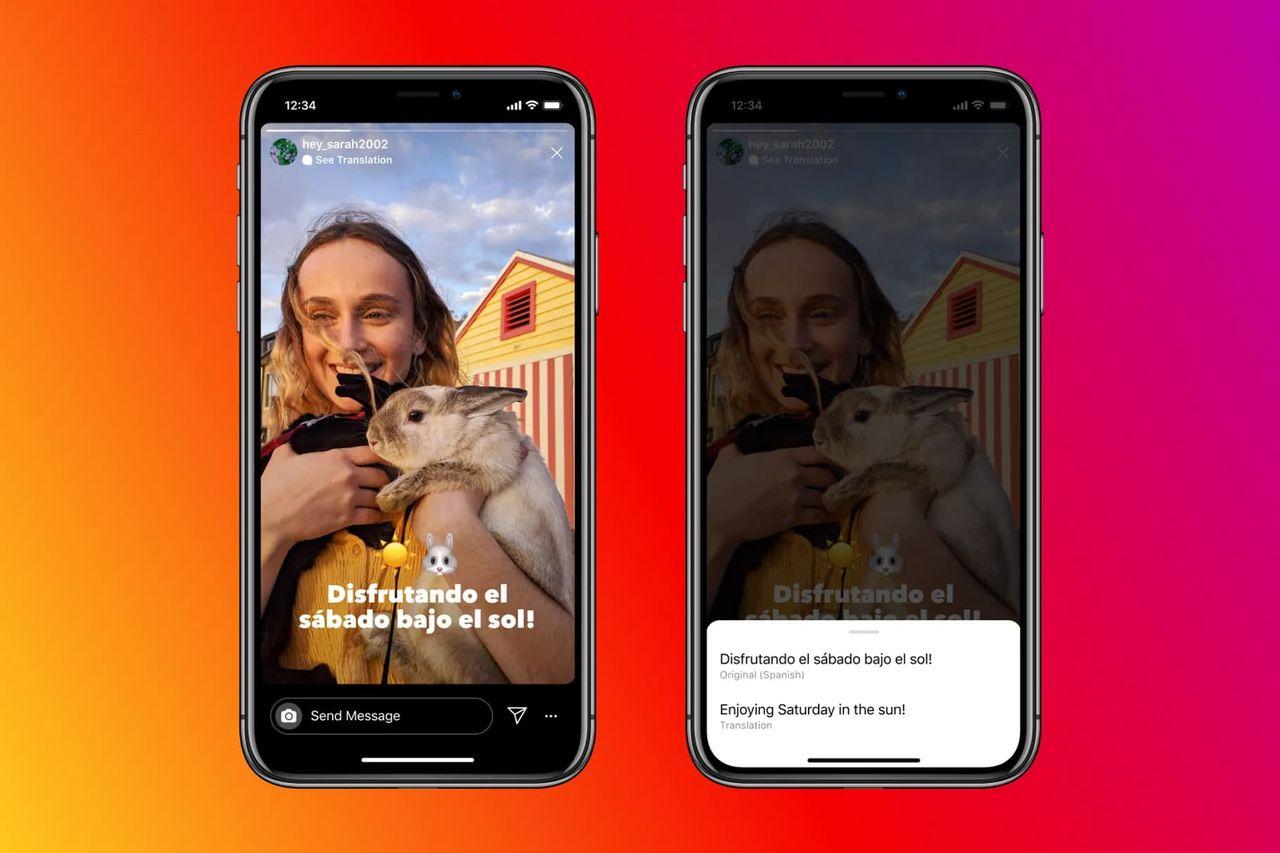 Instagram fixar översättningar till Stories