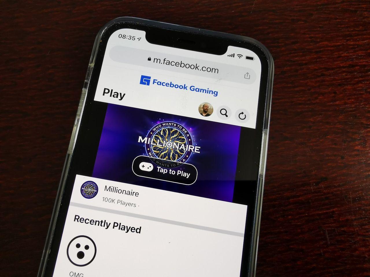 Facebooks spelstreamingtjänst kommer till iOS