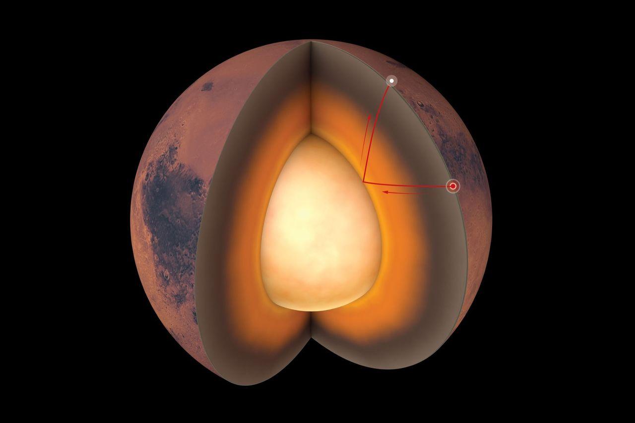 InSight avslöjar mer om Mars inre