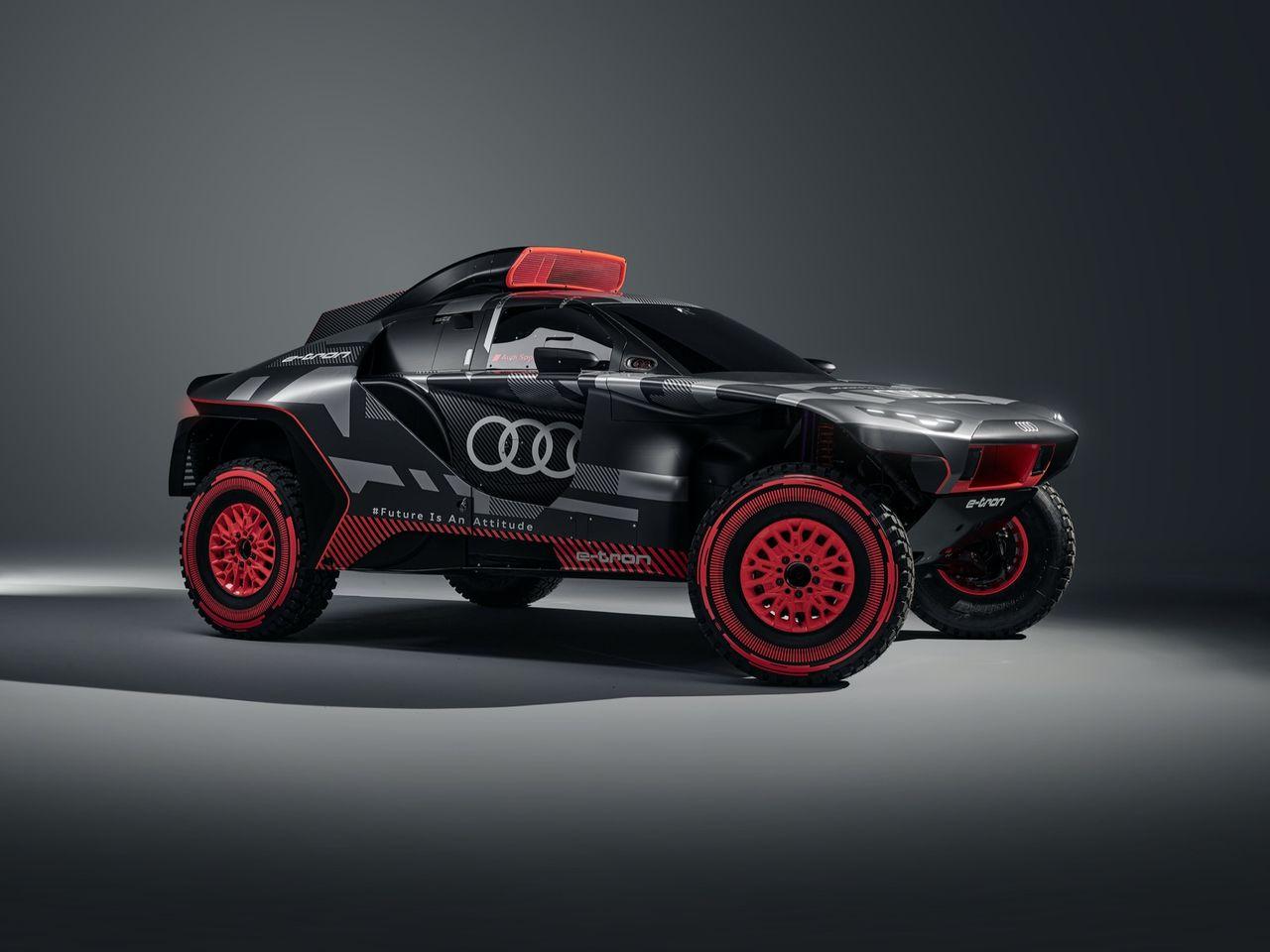 Audi visar upp Audi RS Q e-tron