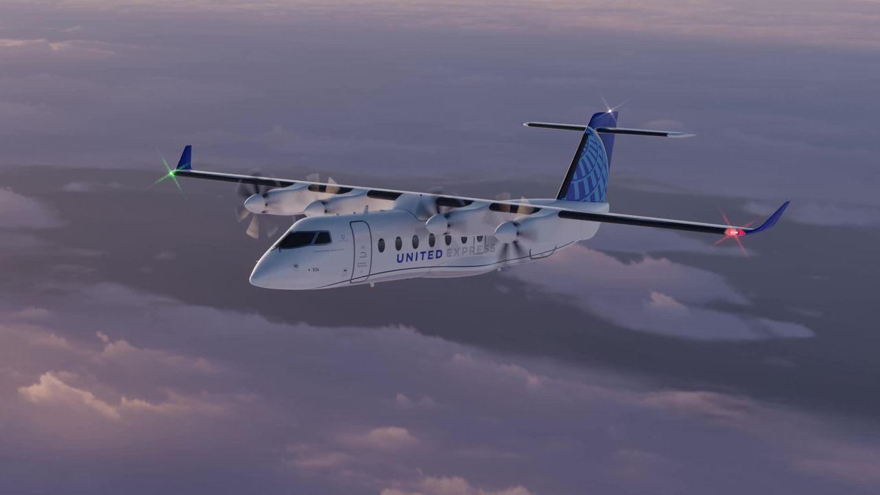 United köper elektriska flygplan från svenska Heart Aerospace