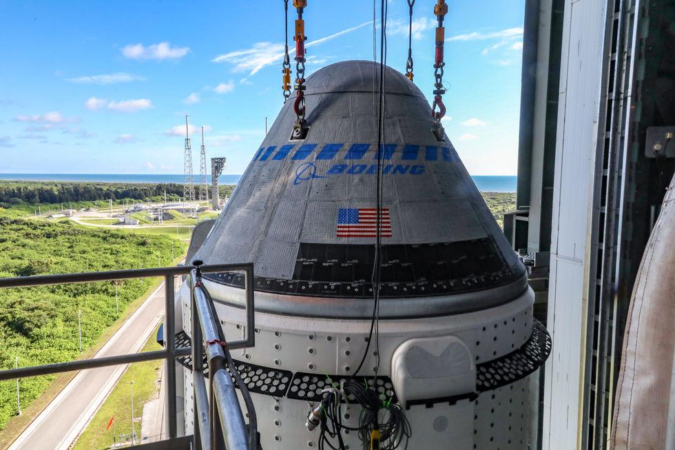 I morgon lyfter Starliner mot ISS i ännu ett test