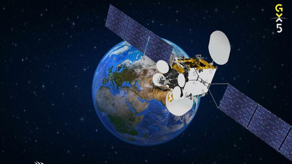 Inmarsat vill också bygga rymdinternet