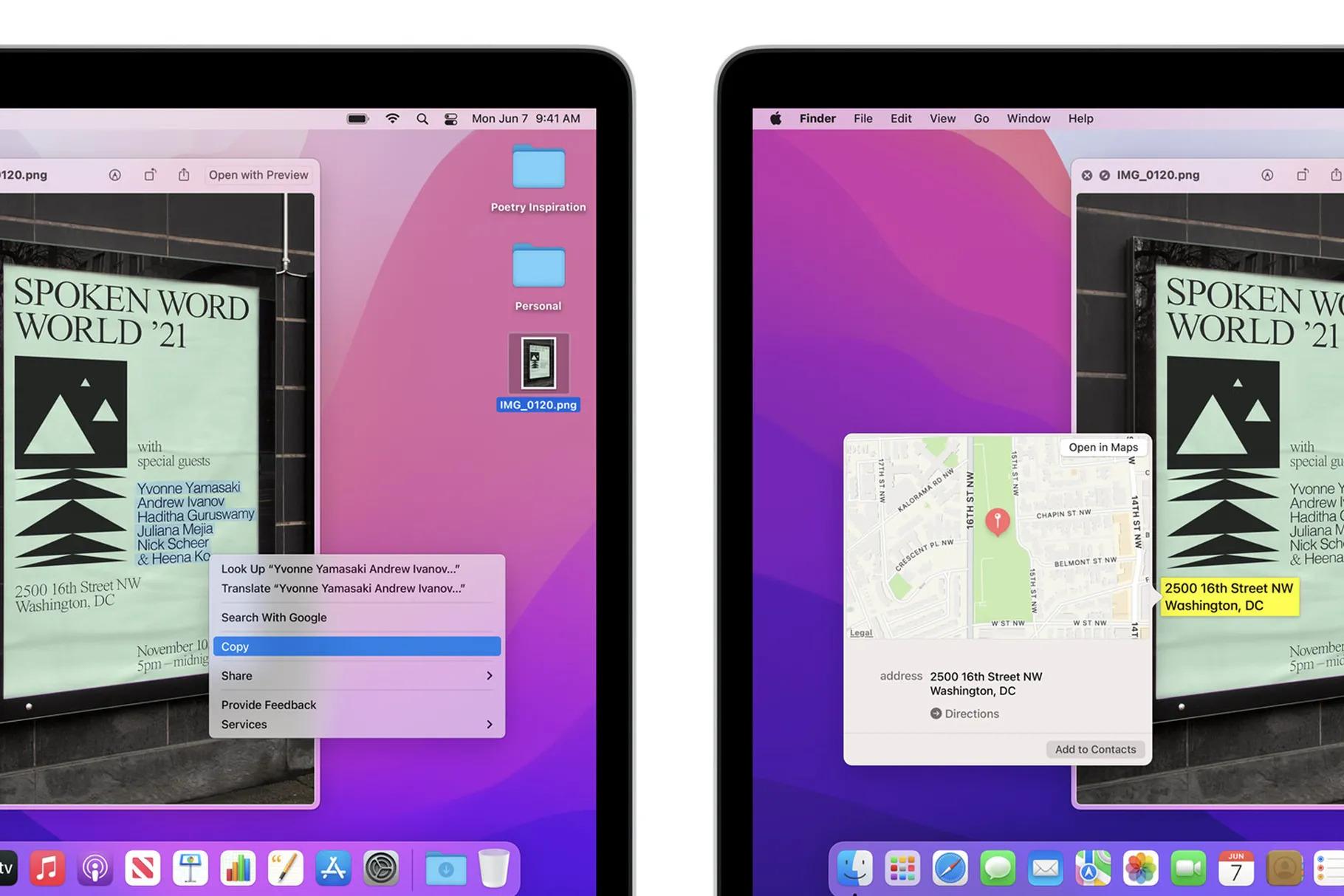 Mac-datorer med Intel processor kan nu skanna text i bilder Nya funktionen i Bilder-appen inte längre M1-exklusiv
