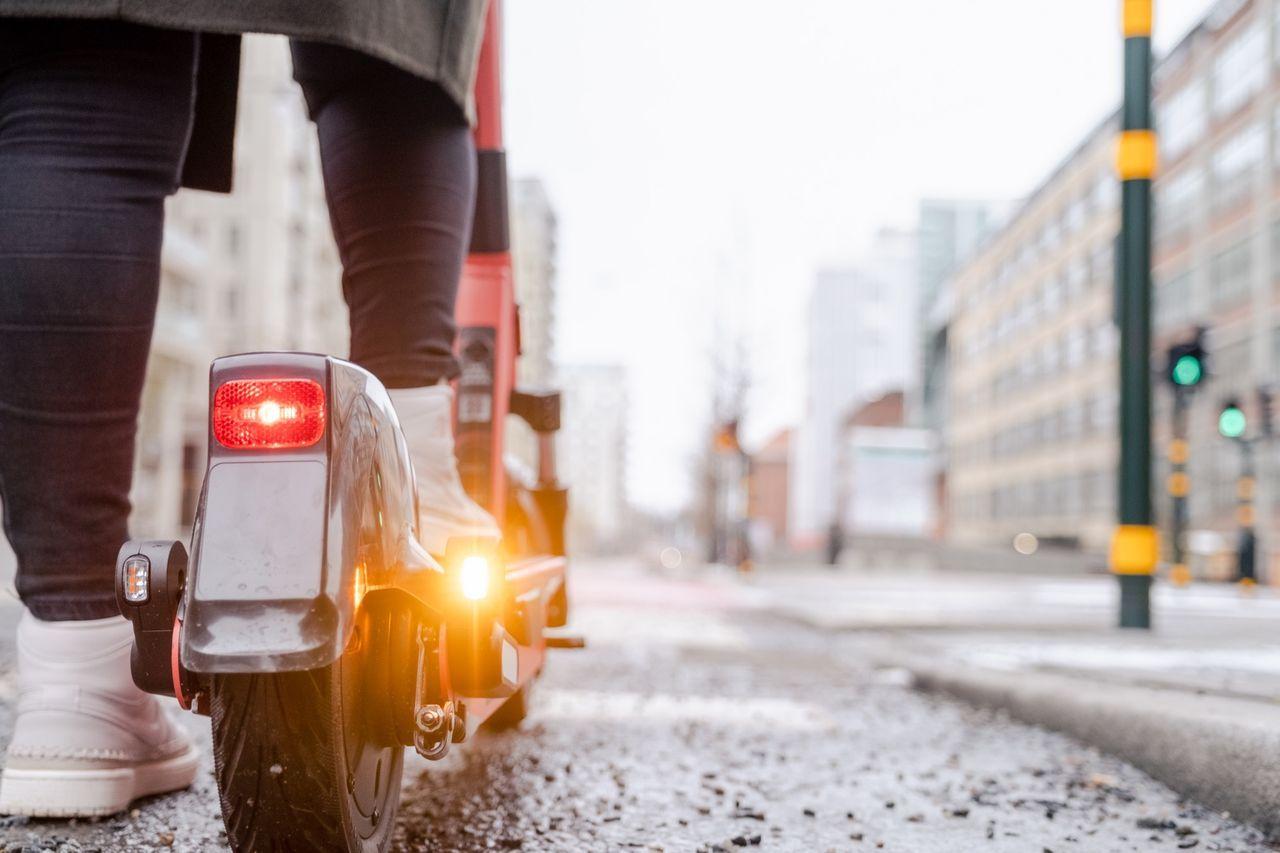 Polisen i Göteborg gjorde stor insats mot elsparkcyklar