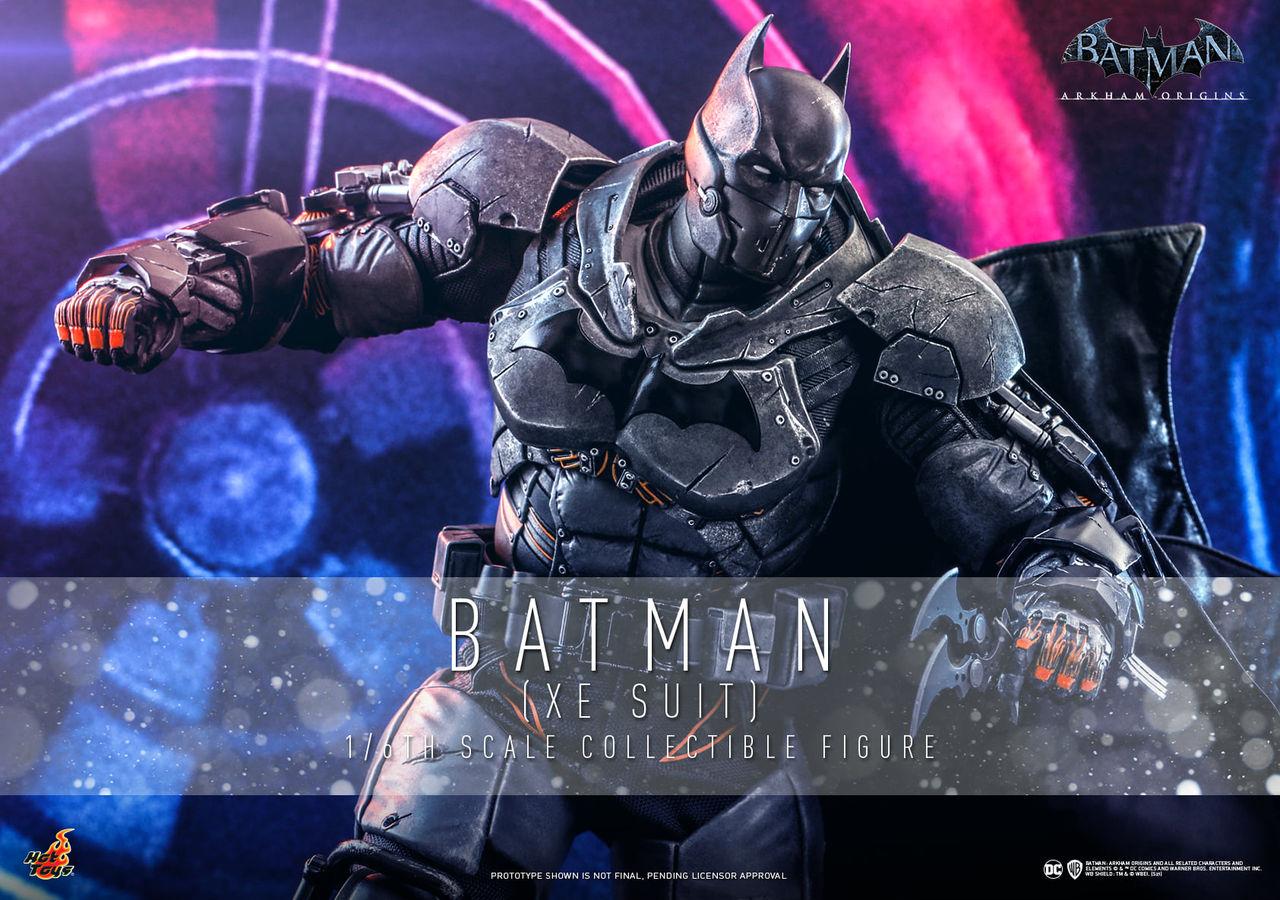 Hot Toys visar upp tjusig Batman: Arkham Origins-figur