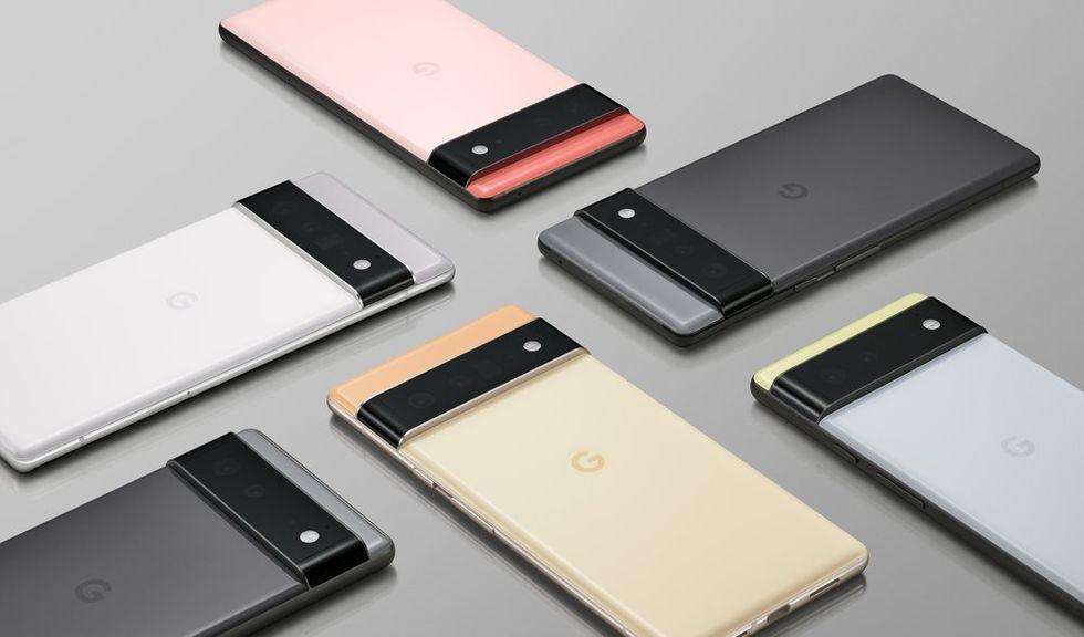Google Pixel 6 och 6 Pro officiella!