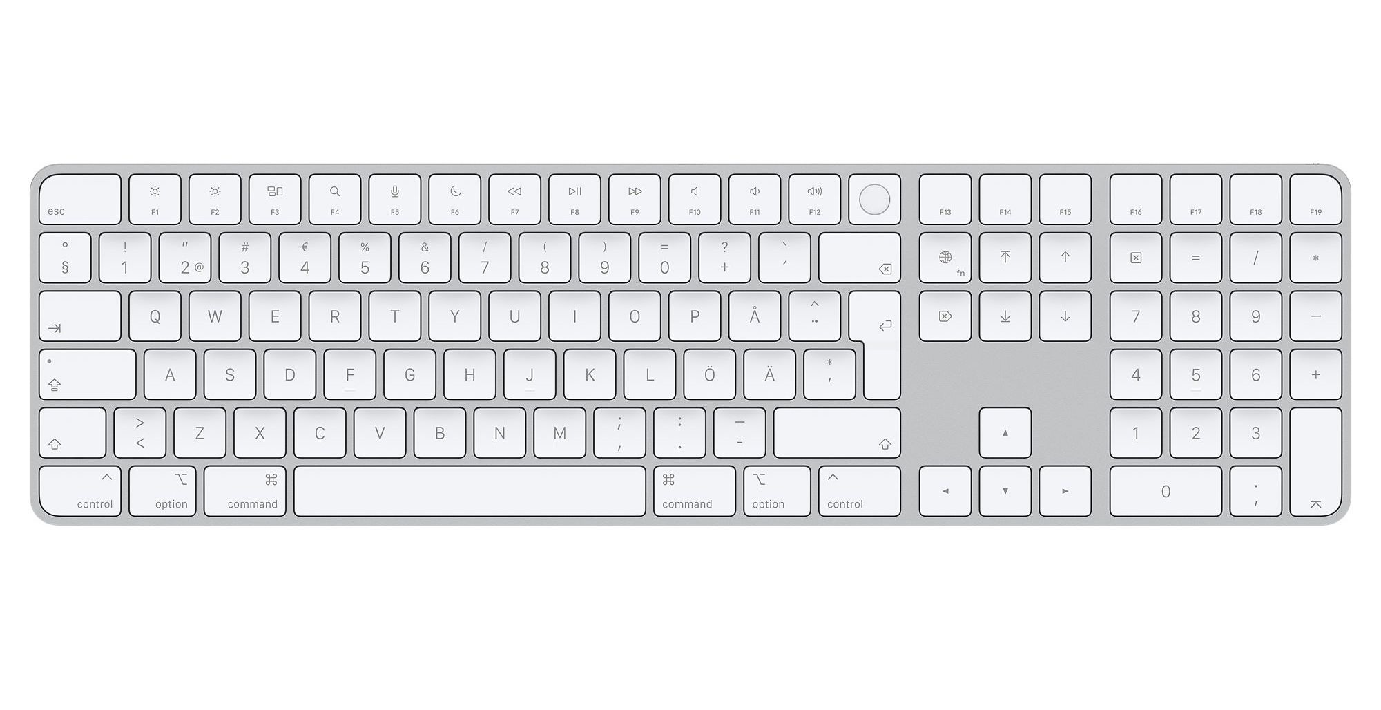 Apple börjar sälja Magic Keyboard med TouchID separat Perfekt för Mac Mini med M1