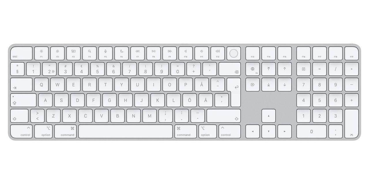 Apple börjar sälja Magic Keyboard med TouchID separat
