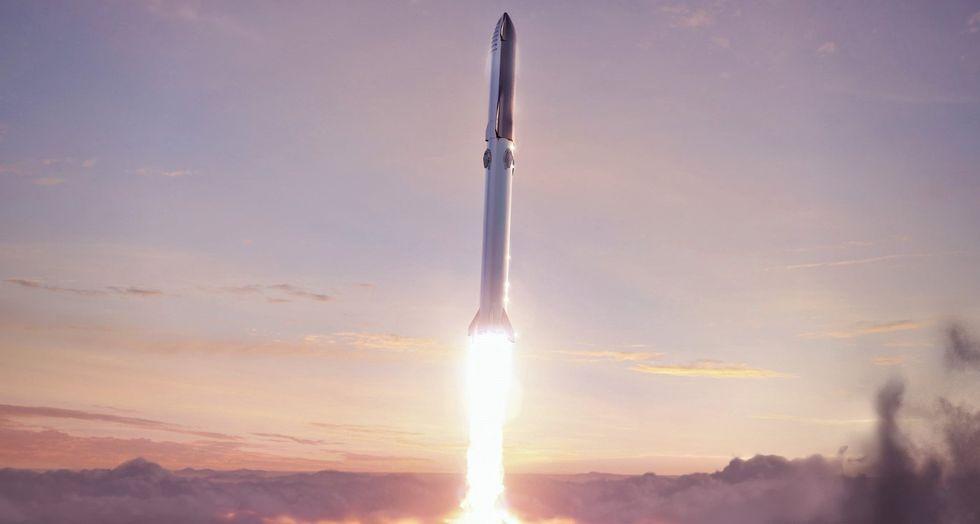 Senaste Super Heavy-raketen står nu på SpaceX startbana