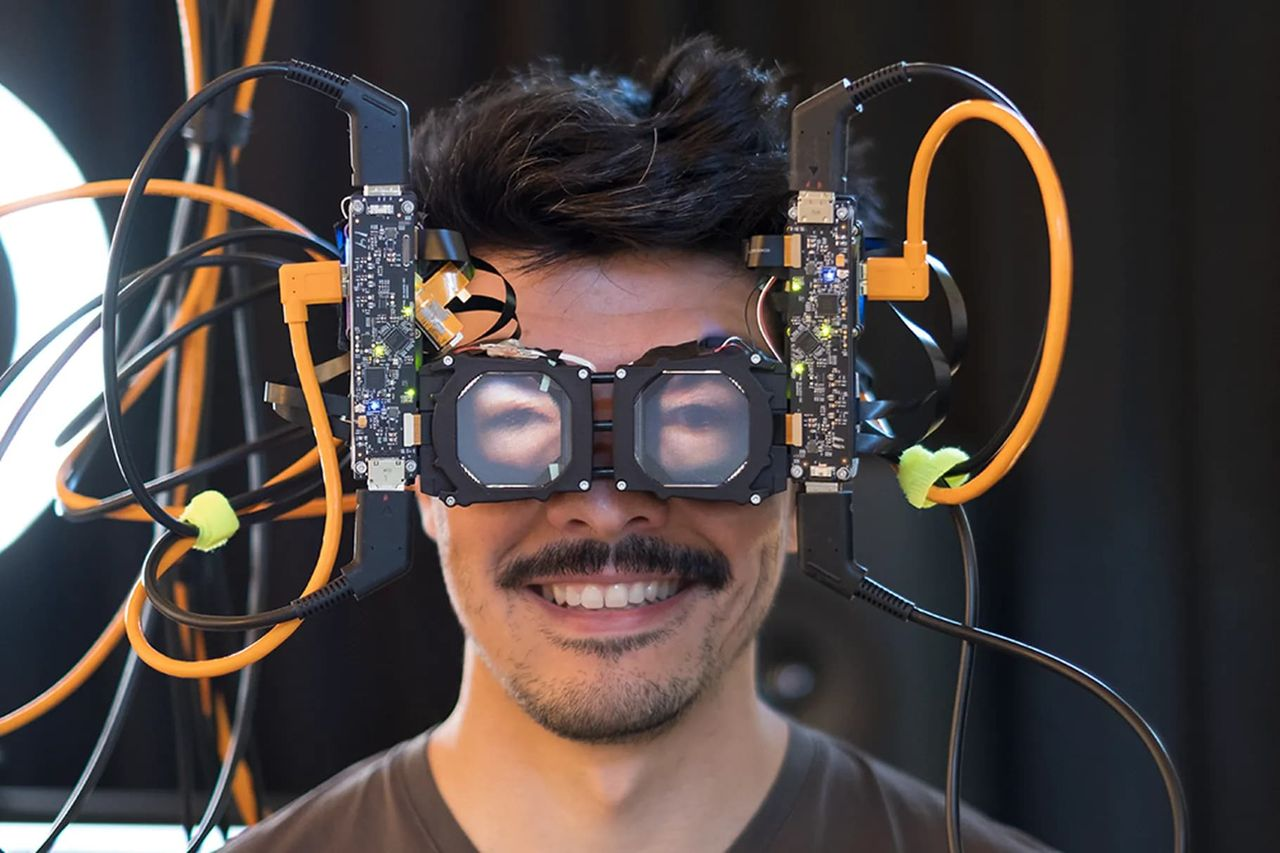 Snart kanske det går att se hur du ser ut bakom VR-headset