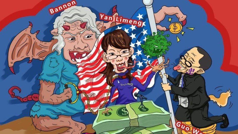 Kinesiskt propagandanätverk avslöjat