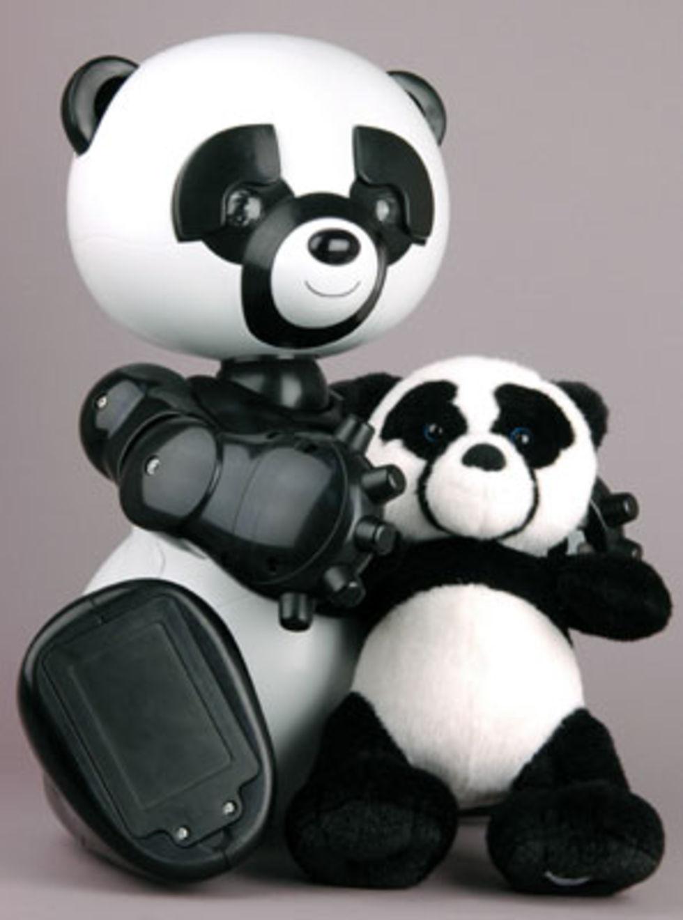 CES 2007: Pandarobot, spindelrobot och elvisrobot