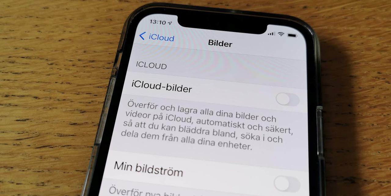 Apples kontroversiella foto-scanning går att stänga av Om man inaktiverar iCloud-lagring av bilder