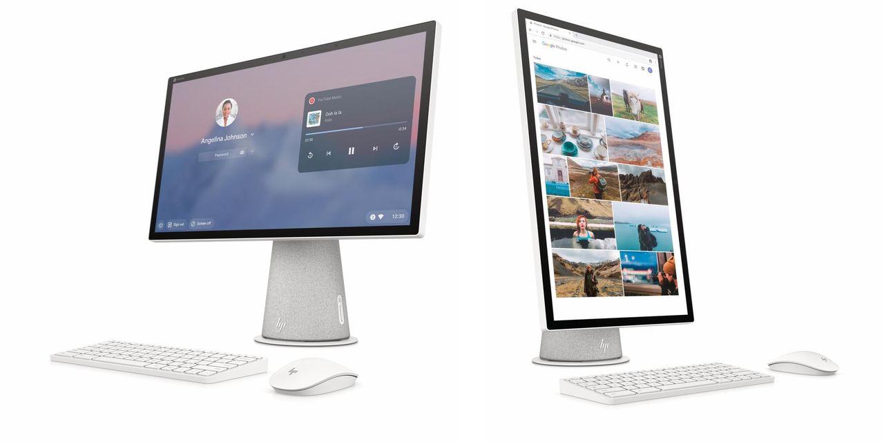 HP presenterar allt-i-ett-dator med Chrome OS