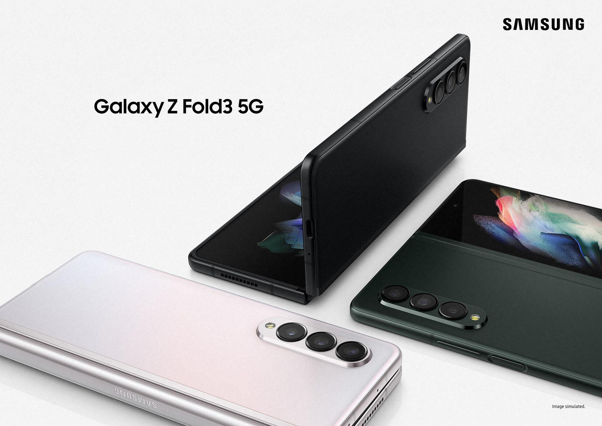 Samsung presenterar Z Fold 3 och Z Flip 3 ordentligt