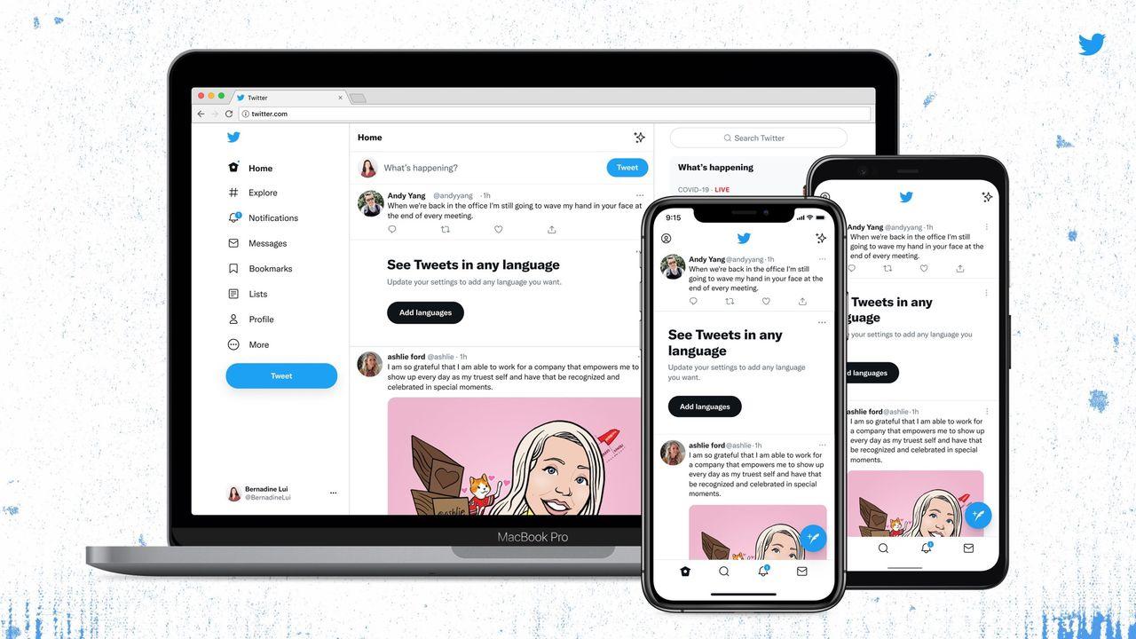 Twitter får ny design