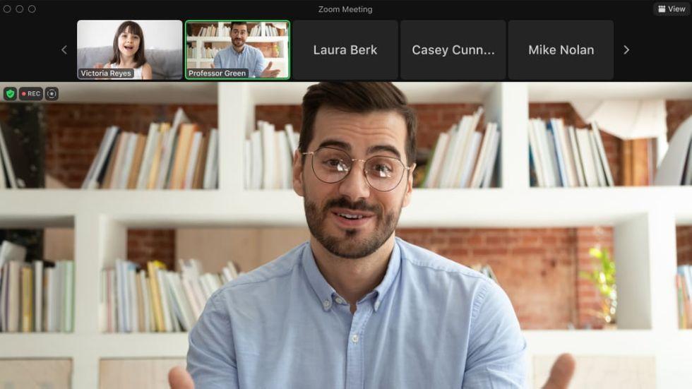 Zoom får läge där endast värden ser deltagares video