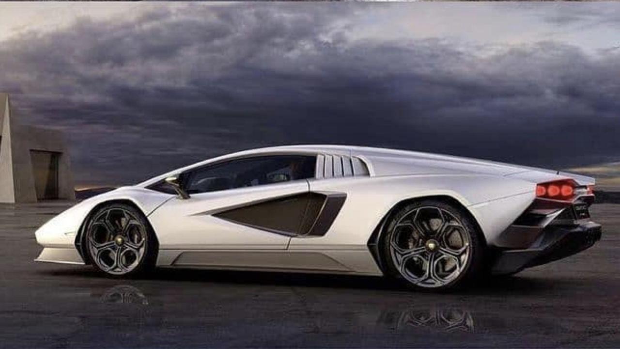 Lamborghini Countach LPI 800-4 läcker