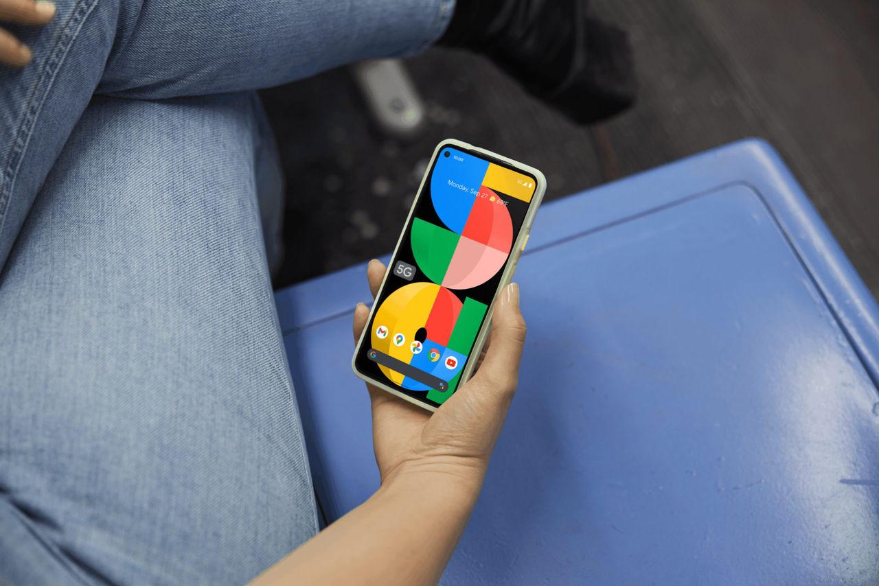 Google visar upp Pixel 5a