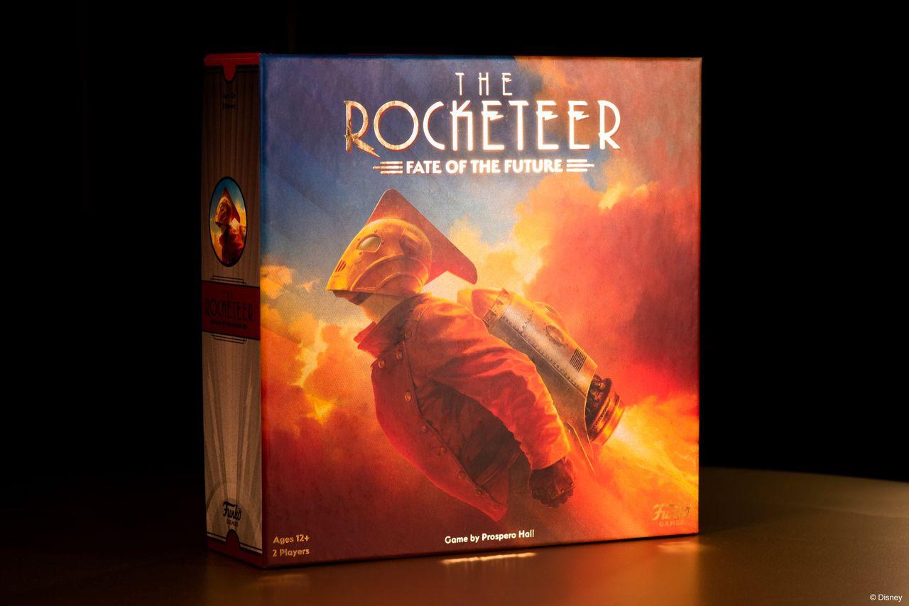 The Rocketeer blir brädspel