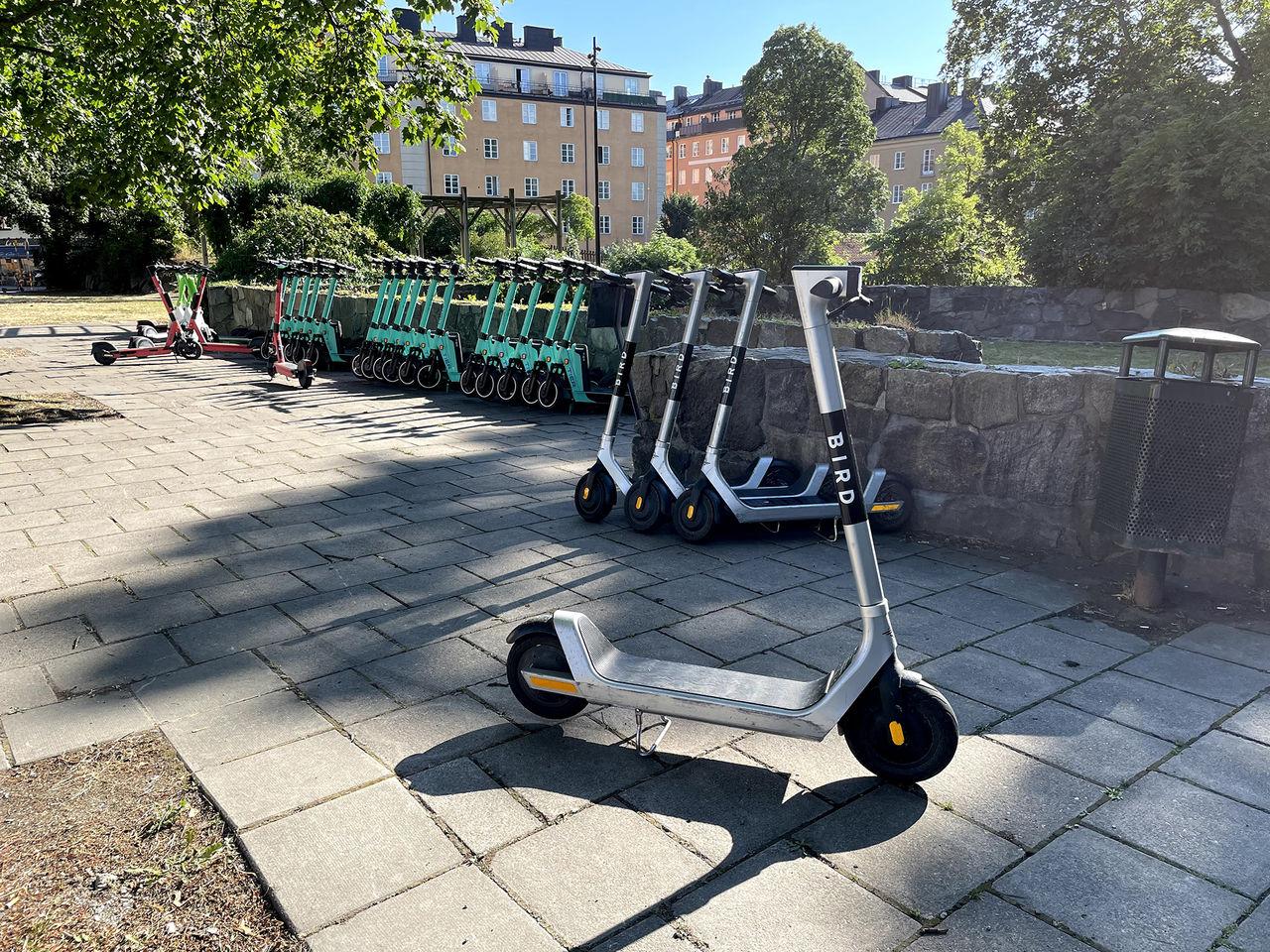Stockholm inför avgift för elsparkcyklar