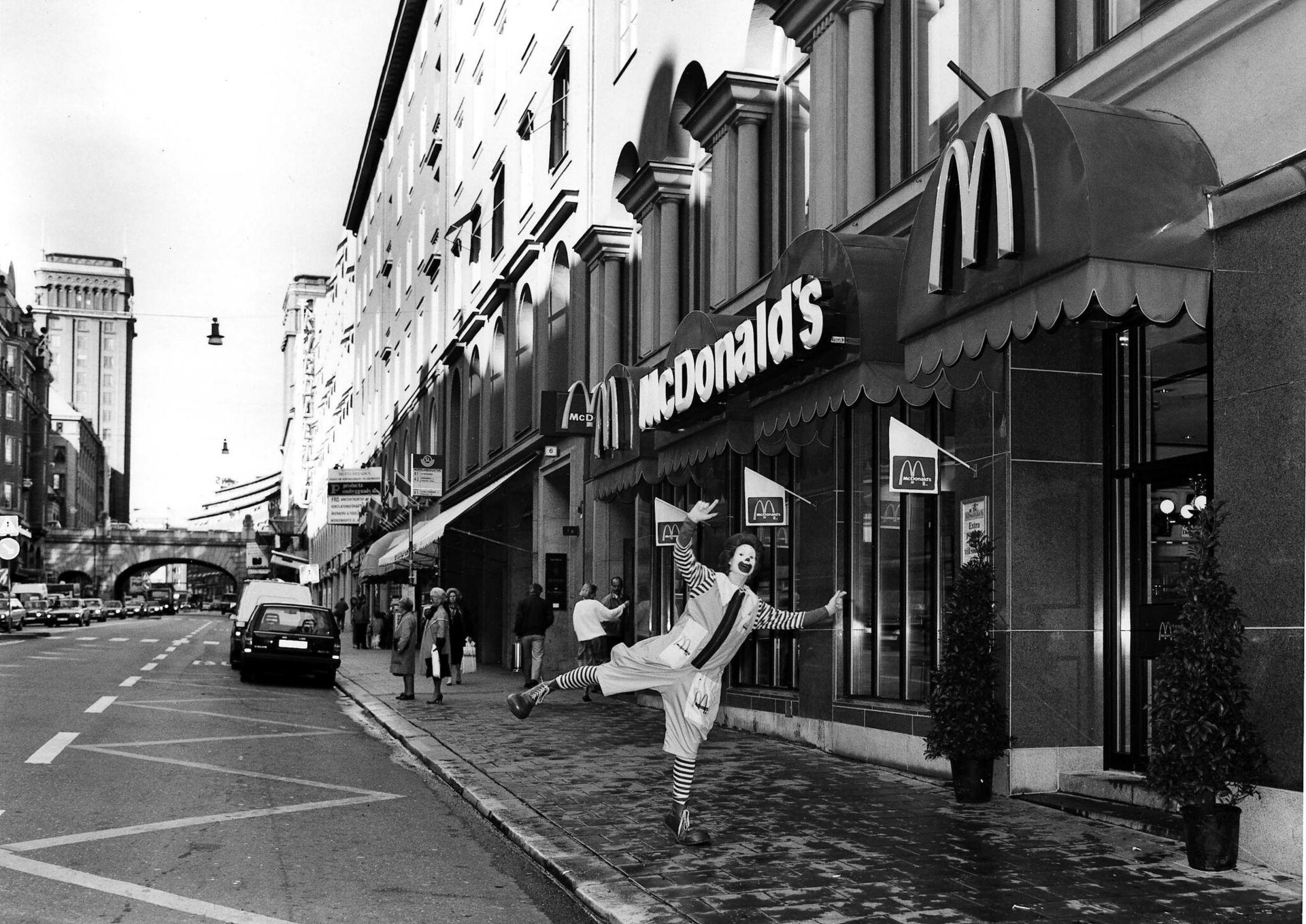 McDonalds första restaurang i Sverige stänger
