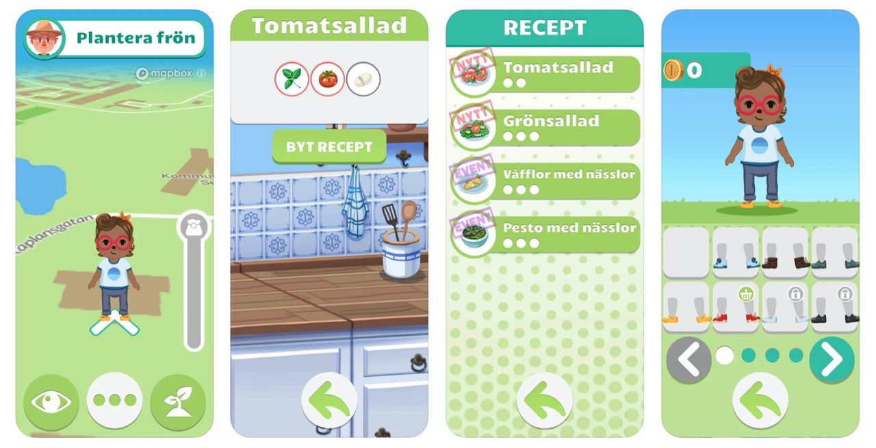 Odla virtuella grönsaker med GoGlad