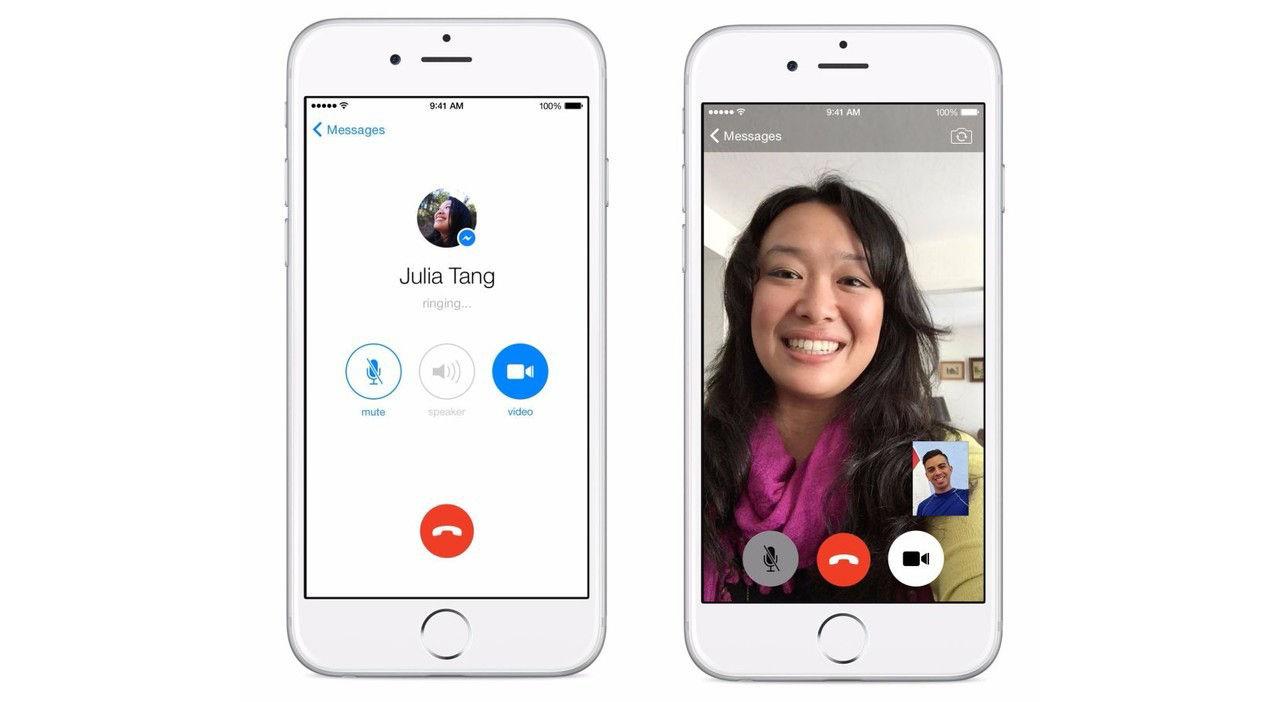 Facebook testar att återinföra röst- och videosamtal i sin app