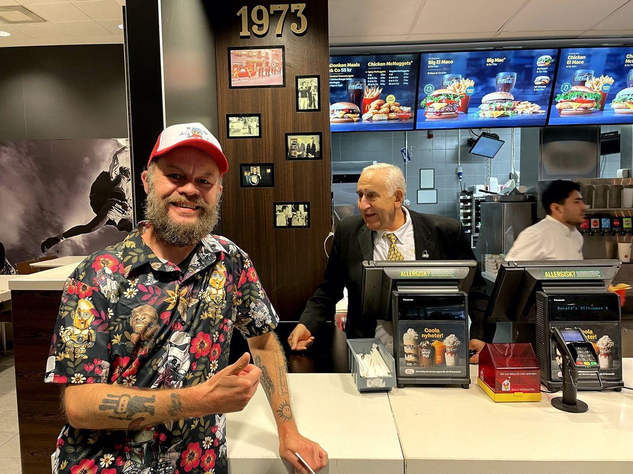 Sista dagen på McDonalds första svenska restaurang