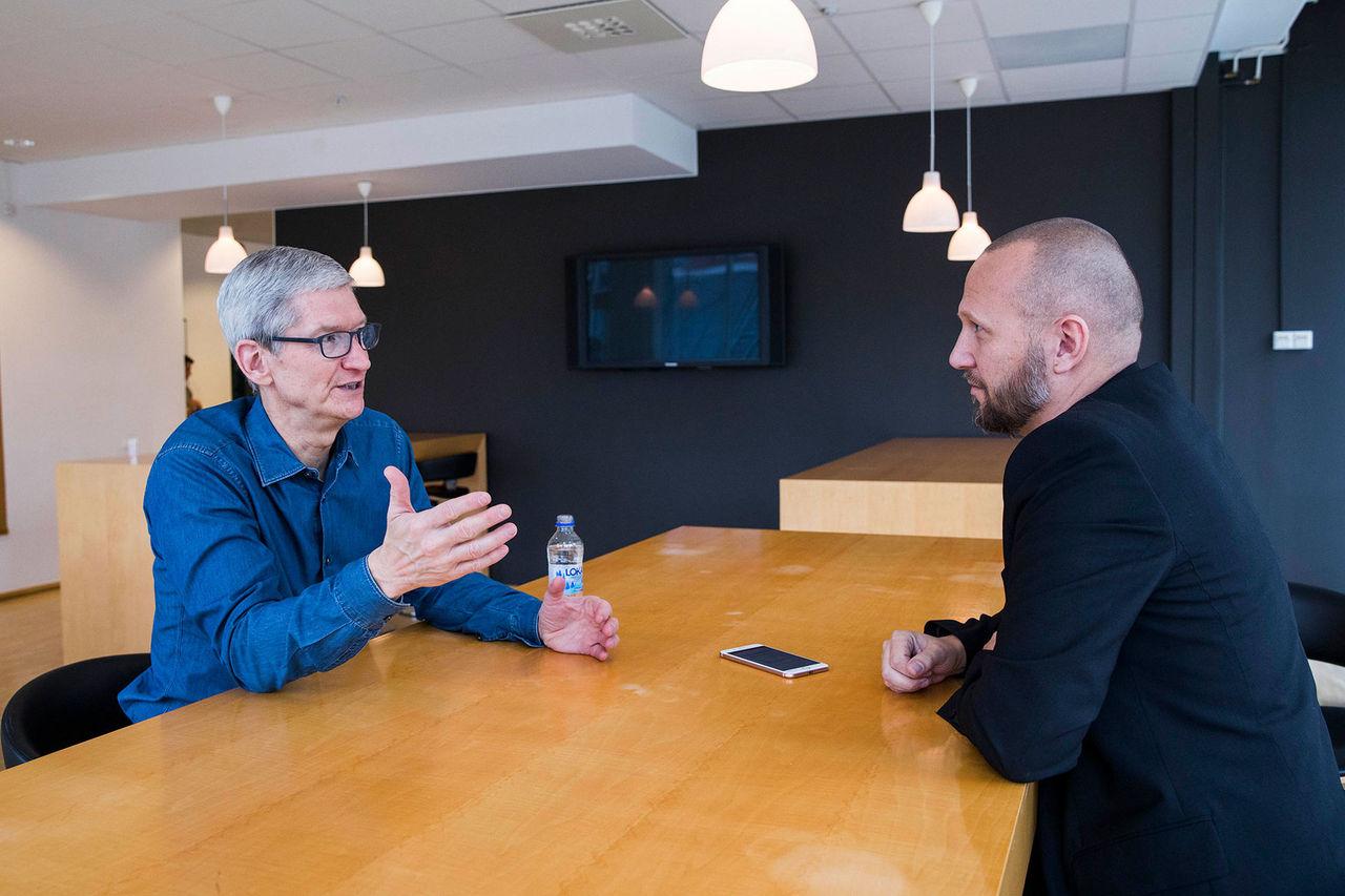 10 år sedan Tim Cook tog över Apple