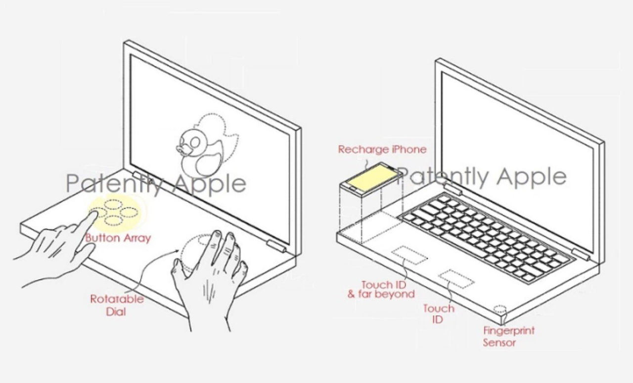 Apple får patent på laptop med dubbla skärmar