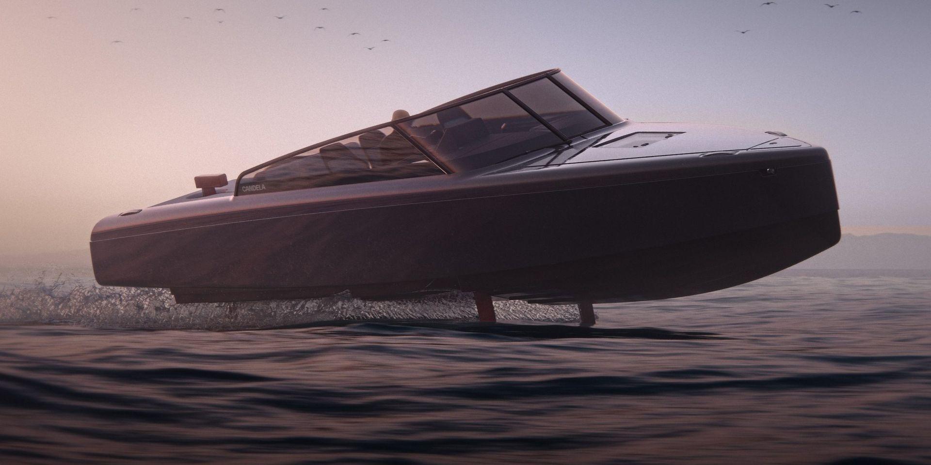 Candela presenterar elbåten C-8