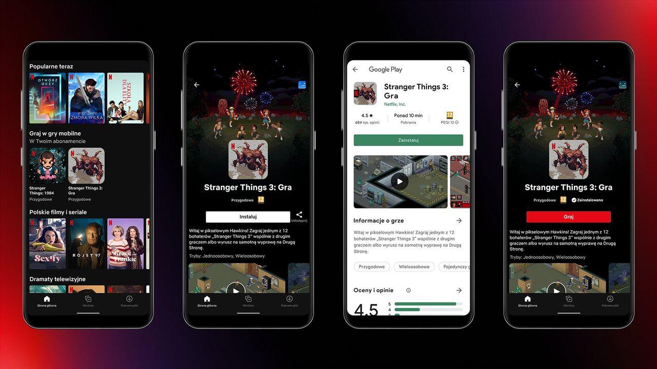 Netflix börjar testa spel i sin Android-app