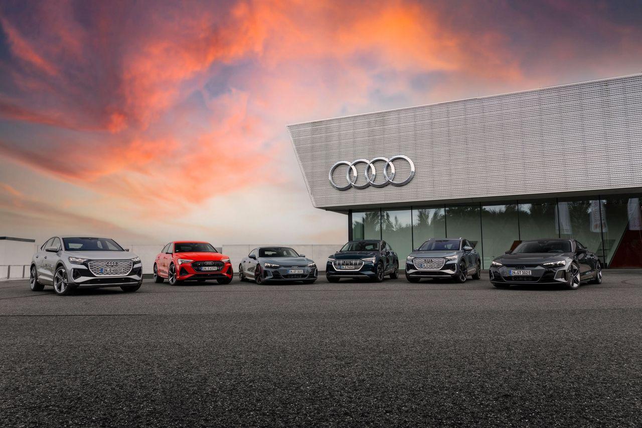 Audi snabbar på omställningen till elbilar