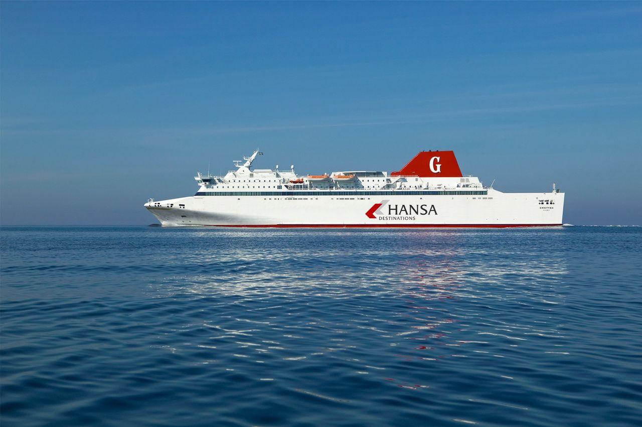 Nu kan man åka båt från Nynäshamn till Rostock