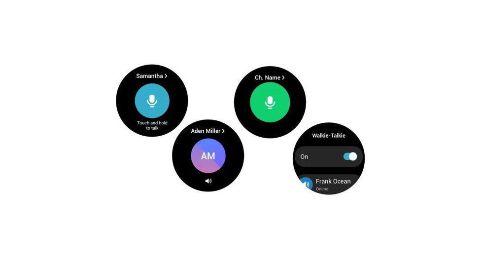 Samsung Galaxy Watch 4 får walkie talkie-app