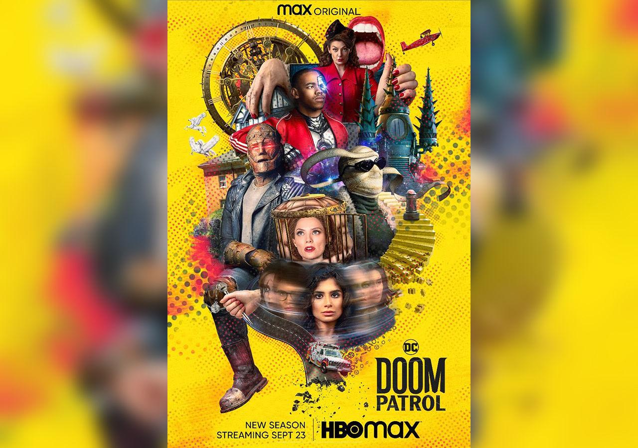 Trailer för Doom Patrols tredje säsong