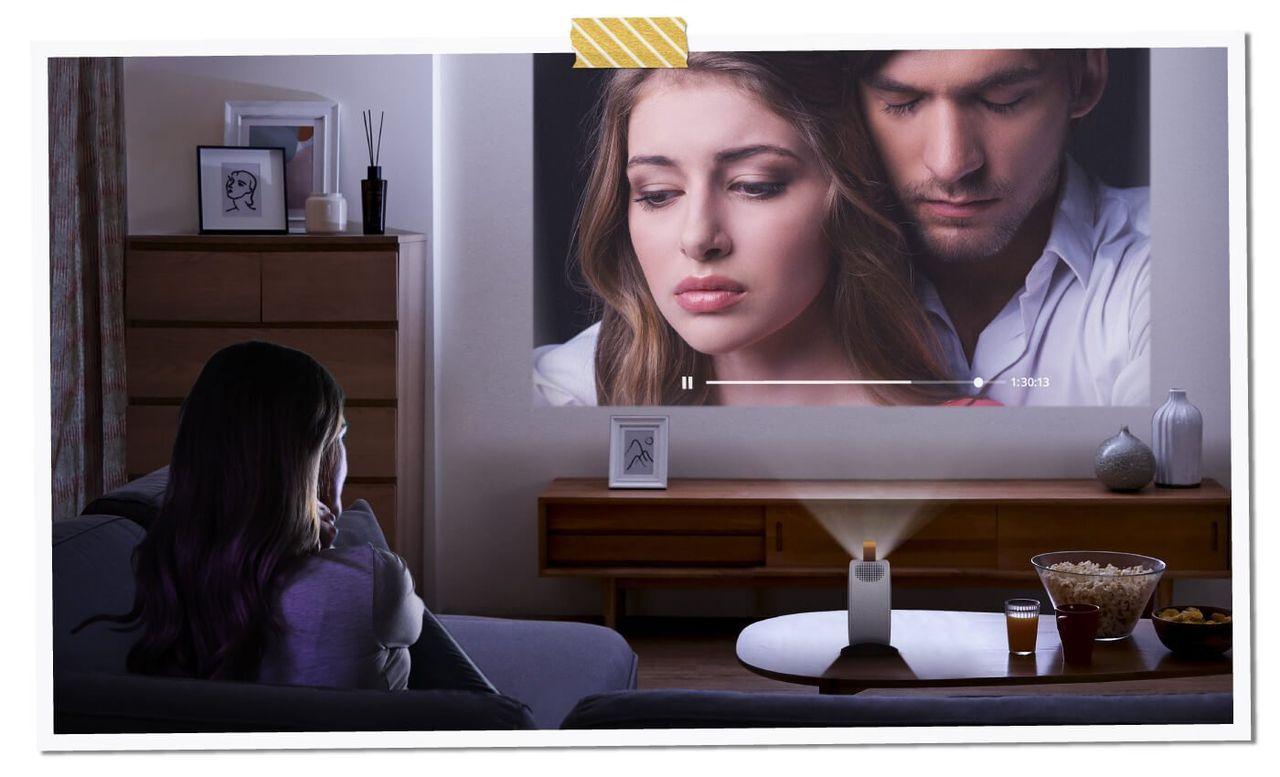 BenQ presenterar bärbar projektor med ordentlig högtalare
