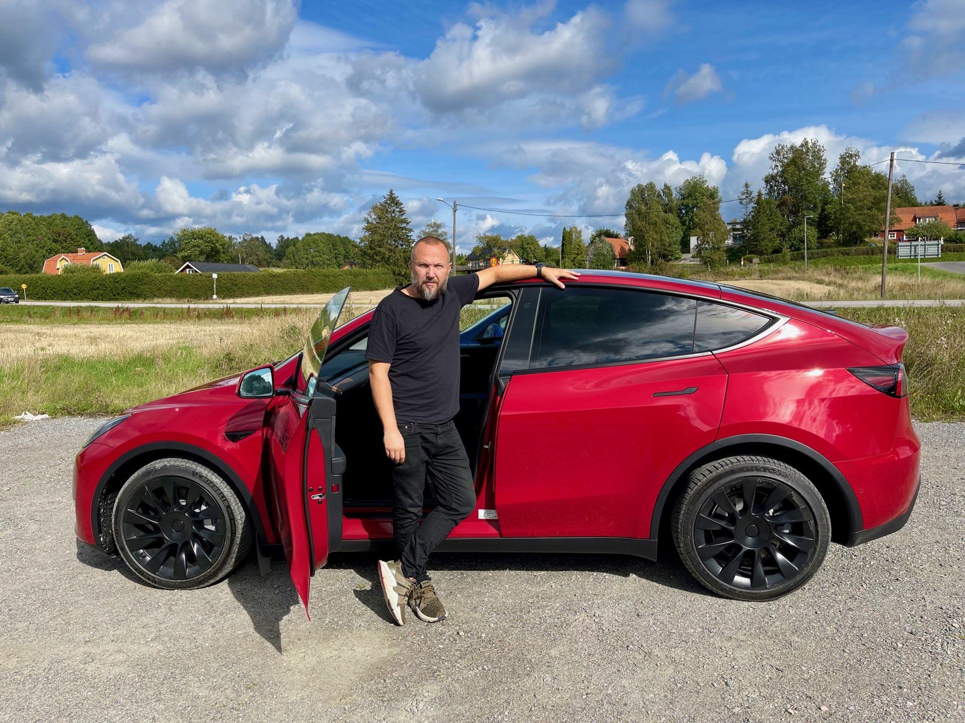 Vi har klämt på Tesla Model Y