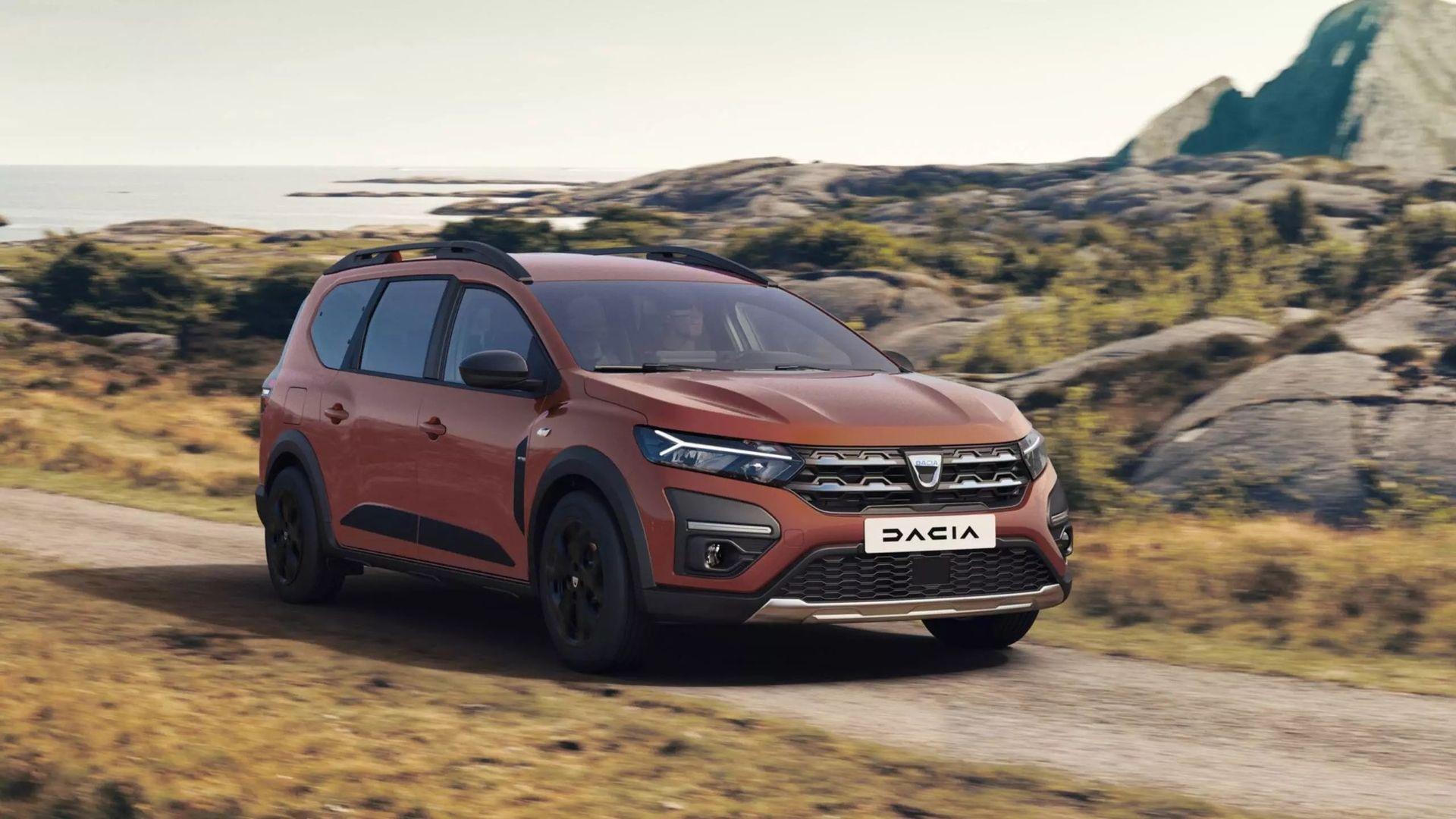 Dacia presenterar sjusitsiga Jogger